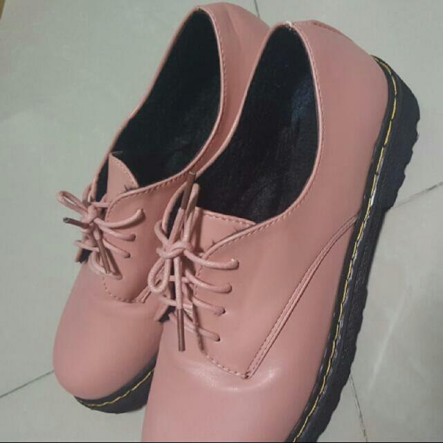 light pink boots