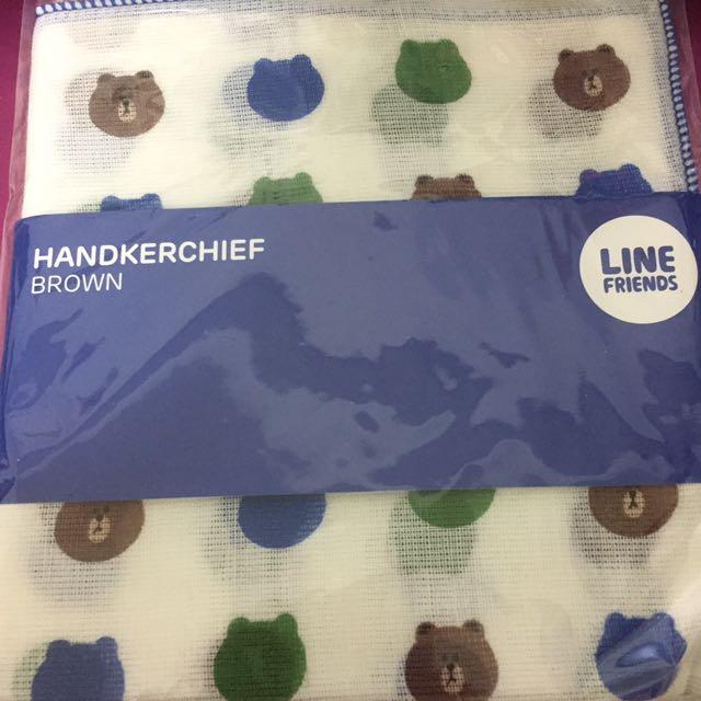 Line熊大 莎莉手帕