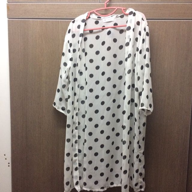 Long Cardigan poko dots