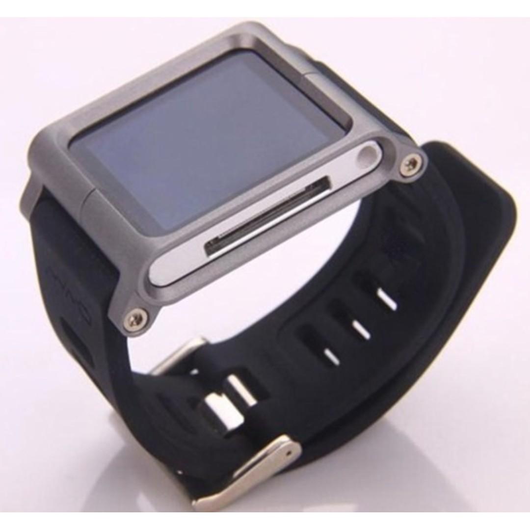 Lunatik Watch Band for ipod Nano Silver Frame BN with box