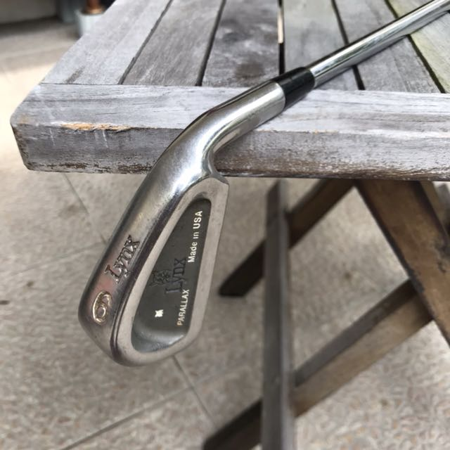 Lynx parallax 6-iron steel shaft golf club fa17a1f18913d