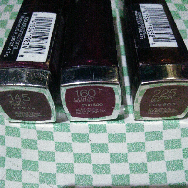 Maybelline Color Sensational Lippies
