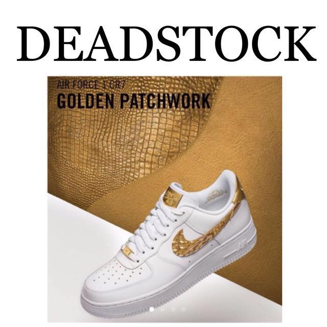 b1b2fe418e1 Men s Nike Air Force 1 CR7-GOLDEN PATCHWORK