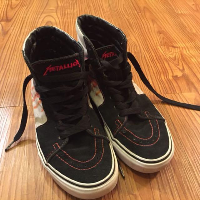 Metallica X Vans Collab Skate High