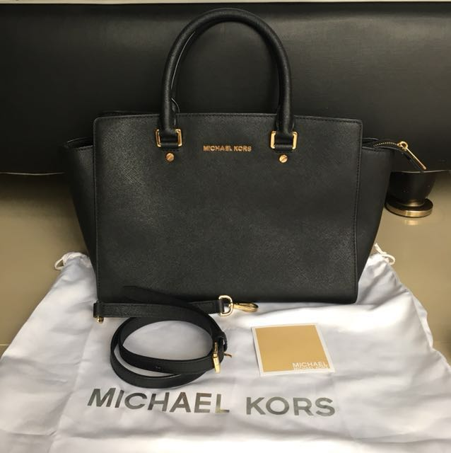 Michael Kors Selma Large (Black)
