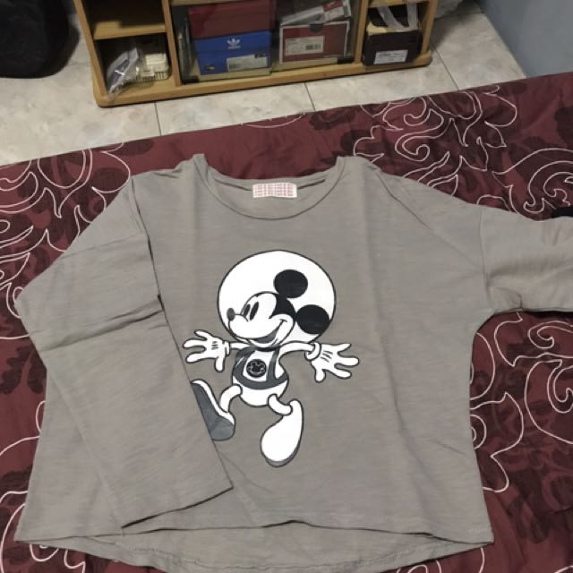 Mickey Mouse Crop Tee