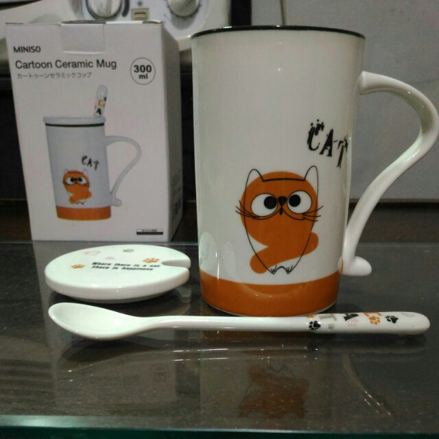 Miniso Cartoon Ceramic Mug