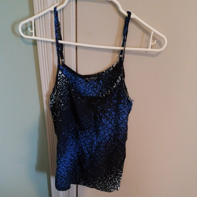 Miss Selfridge cami top with adjustable straps - size 8