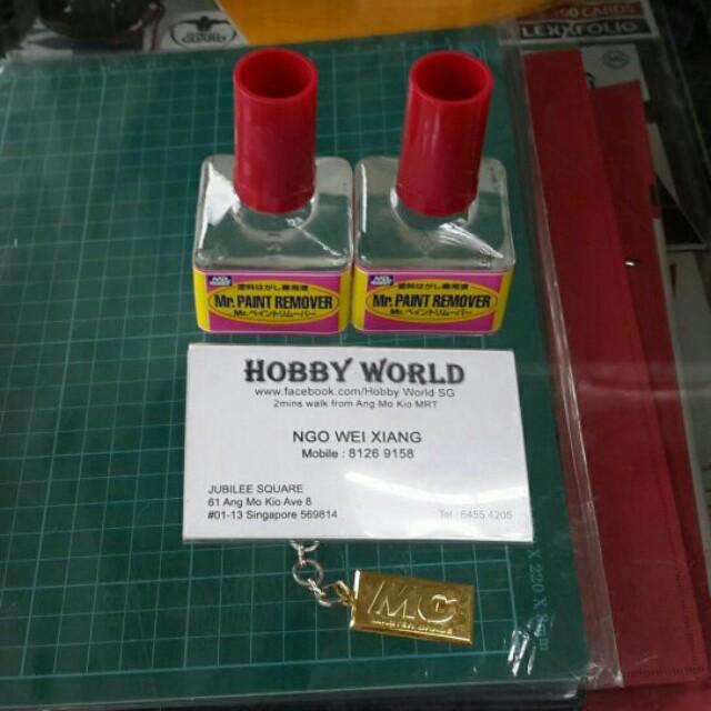 Mr.Hobby Mr. Paint Remover 40ml shns
