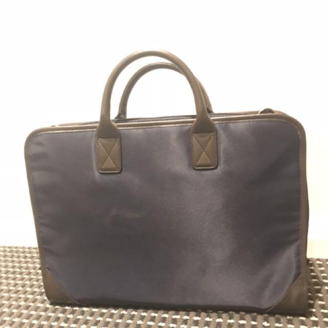 MUJI Business Bag (laptop, water bottle okay)