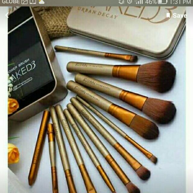 Naked3 Make Up Brush 12pc Set