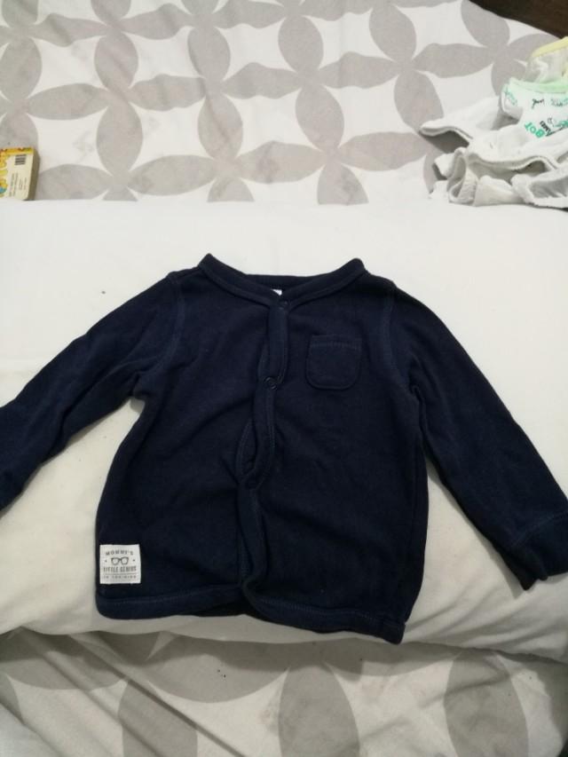 Navy sleepwear