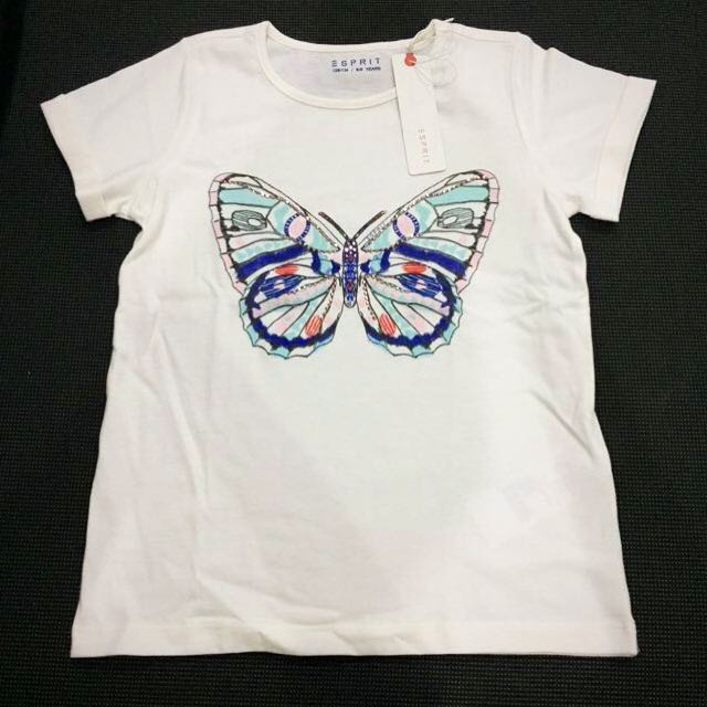 New Butterfly Tee with studs