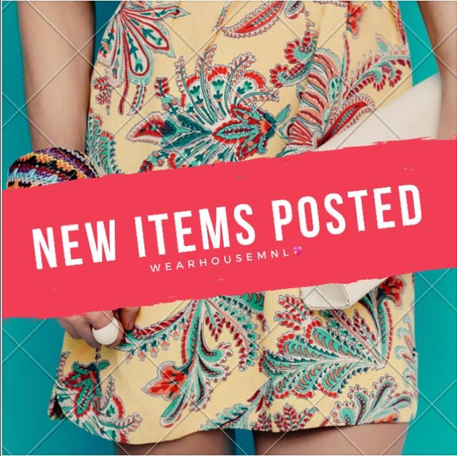NEW ITEMS POSTED!!