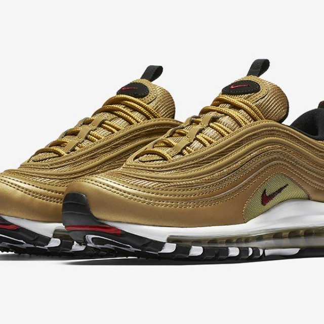 Nike Air Max 97 ultra gold 25691cefa218