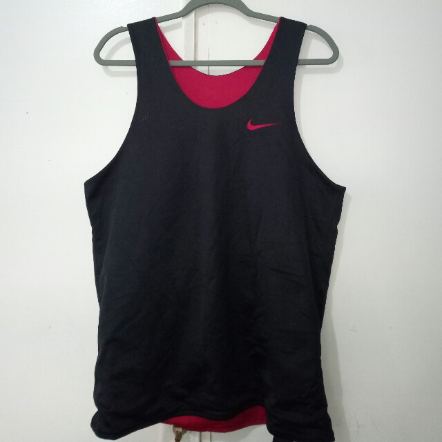 Nike reversible basketball shirt