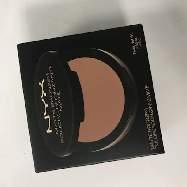 Nyx matte bronzer dark tan