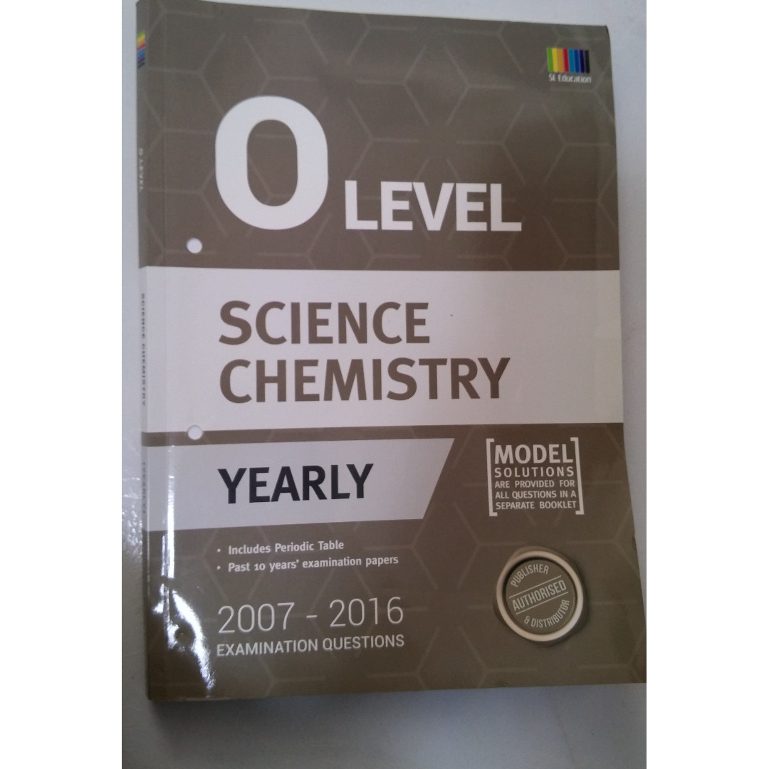 O levels combined science chemistry ten year series tys books photo photo photo urtaz Images