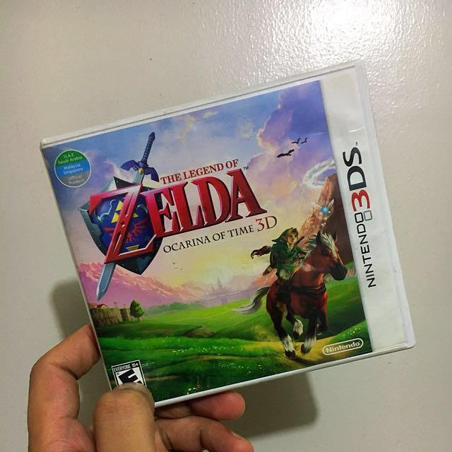 Ocarina of Time (The Legend Of Zelda) NINTENDO 3DS