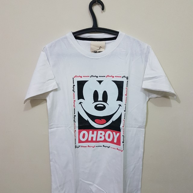Oh boy ! Mickey mouse
