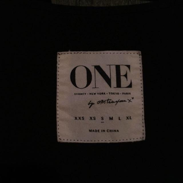 One Teaspoon Black Dress