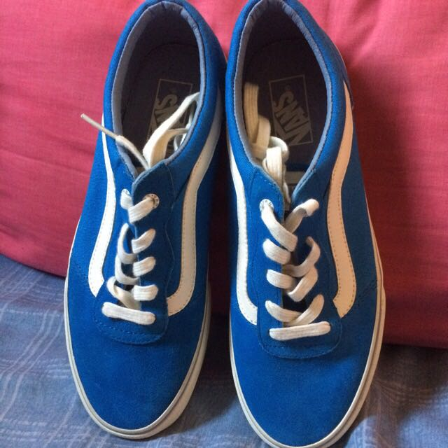vans milton blue