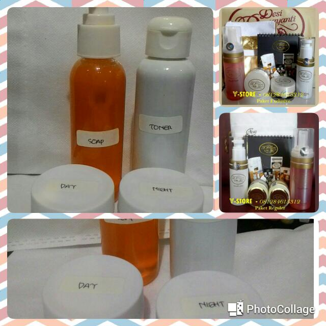 Paket Desi Damayanti Skincare Tester, Health & Beauty, Skin, Bath, & Body on Carousell