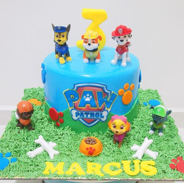 Paw Patrol Cake Food Drinks Baked Goods On Carousell