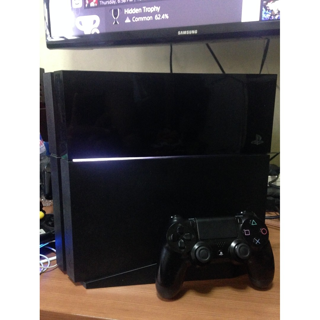 Playstation 4 (ps4) Fat - 500gb w 1 controller