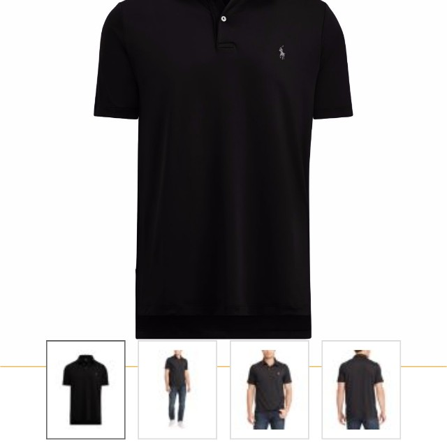 c49ddb4553 Polo Ralph Lauren Performance Lisle Polo Shirt