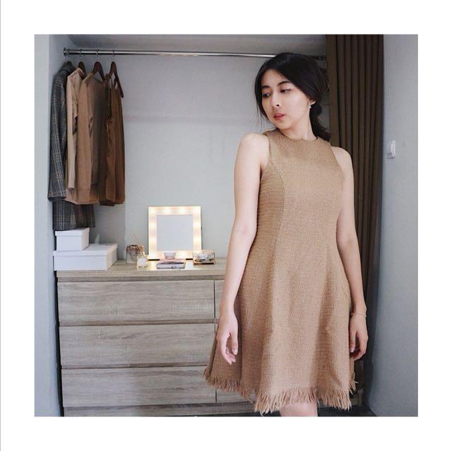 POMELO Textured Dress