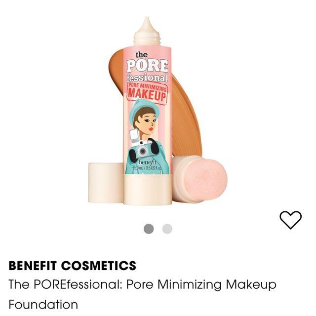 Pore Minimalizing Foundation