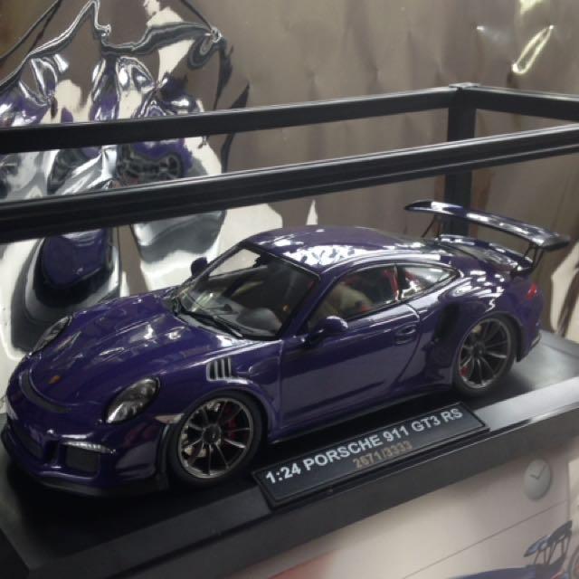 Porsche 保時捷 911 GT3 RS 1:24 鋅合金模型車