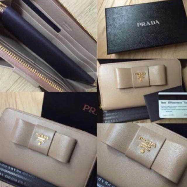 Prada wallet Fiocco
