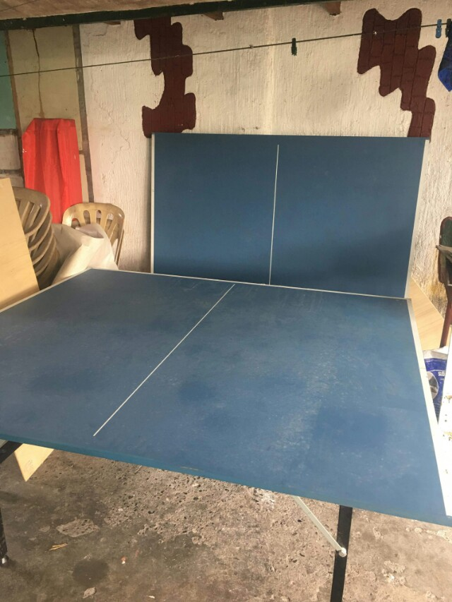 PRE-LOVED Table Tennis Double Power with FREE net, racket, and racket case