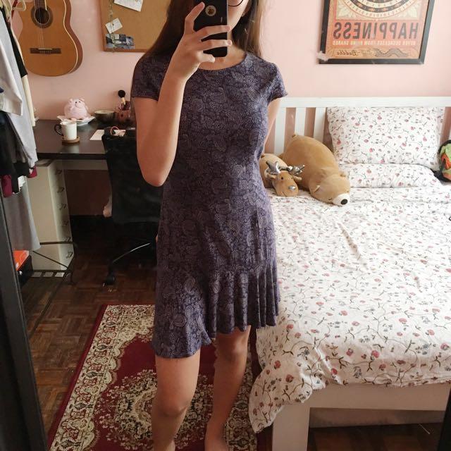 PRIMARK Ruffle Hem Dress