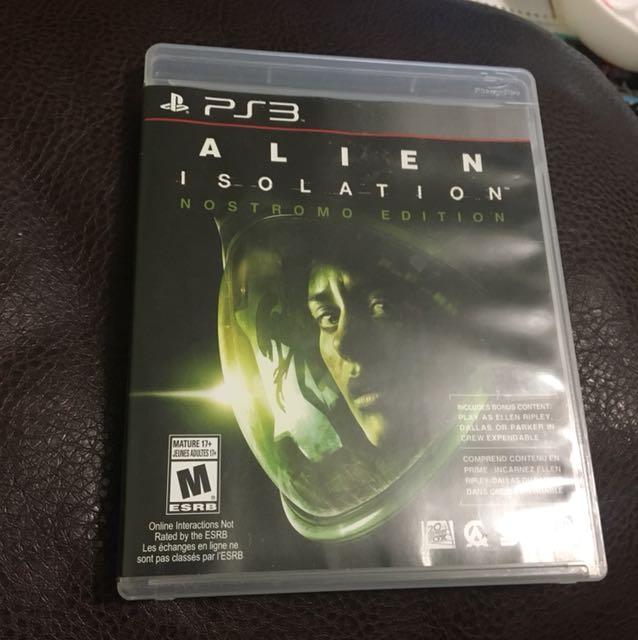 PS3 Alien Isolation Nostromo Edition