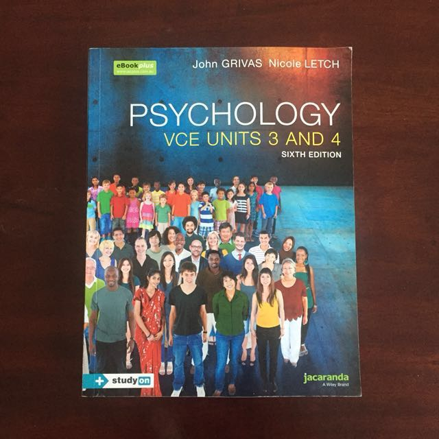 Psychology VCE Units 3 and 4 textbook