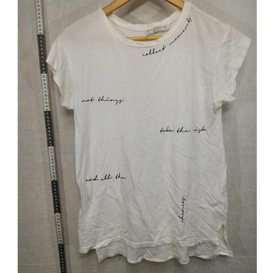 Pull&Bear白T恤