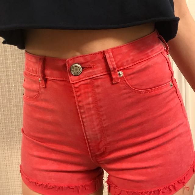 Red A Eagle Shorts