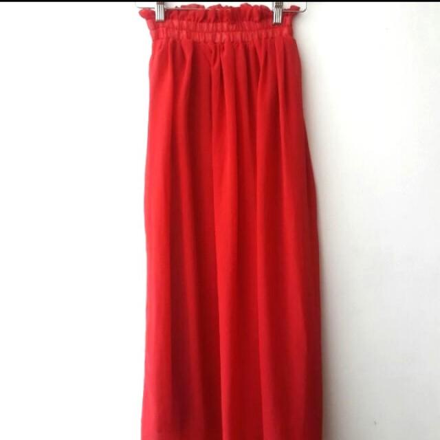 Maxi Skirt Merah