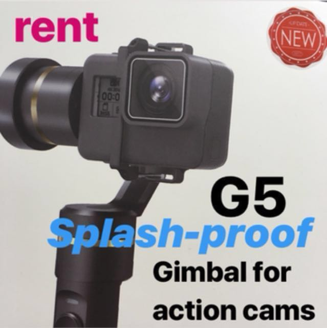 Rent G5 Gimbal GoPro Action Cam