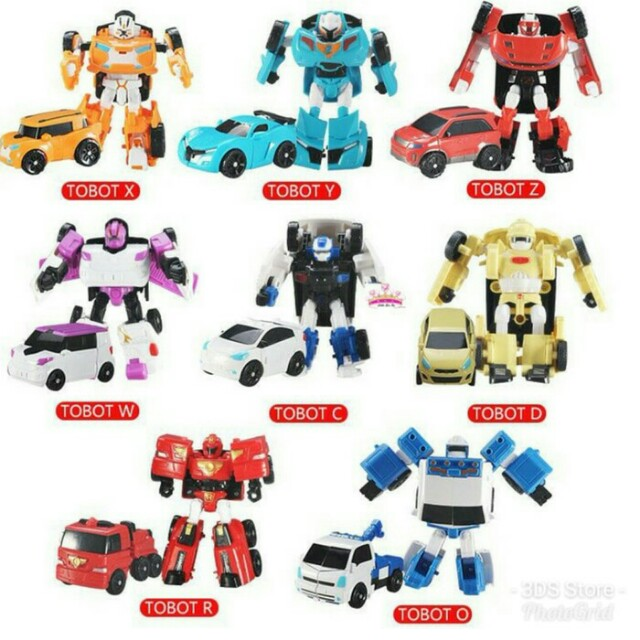 Robot Tobot Toys Collectibles Toys On Carousell