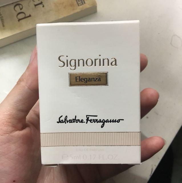 Salvatore Ferragamo Signorina Eleganza Travel Size Eau de Parfum