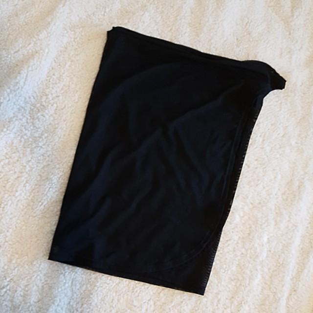 Seafolly sheer black sarong