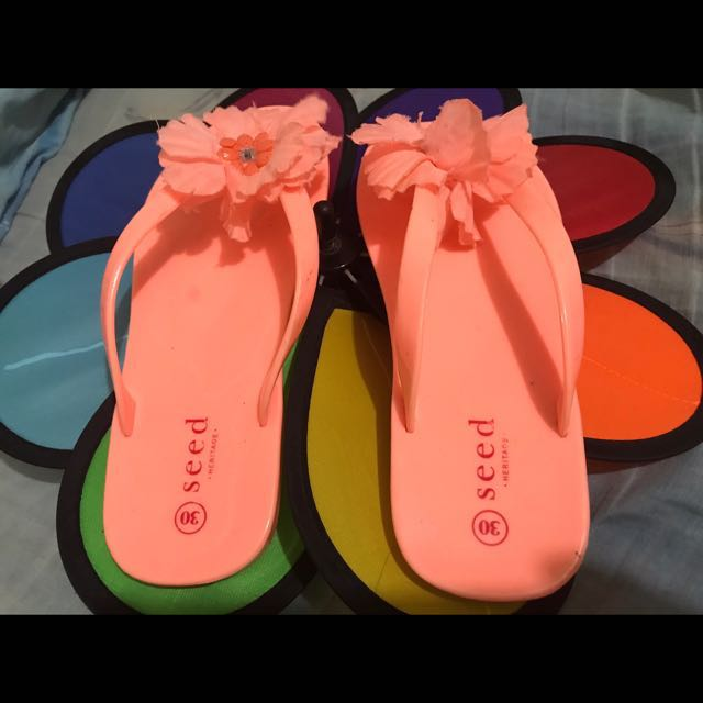 Seed Heritage Girl's Slippers
