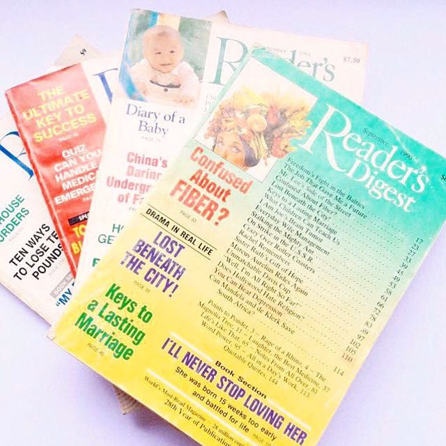 [Set of 4] Vintage Reader's Digest.