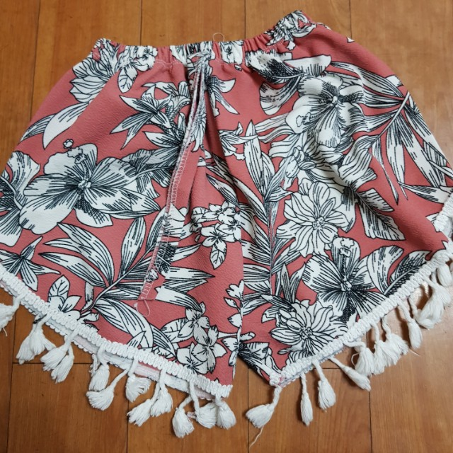 Shorts With Tassels