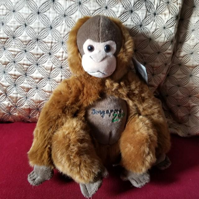 Singapore Orangutan Souvenir Stuff Toy