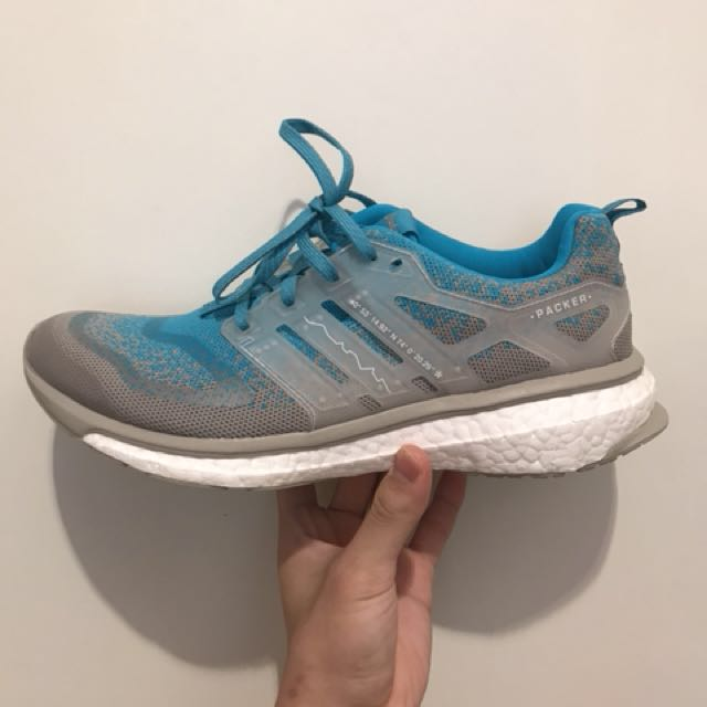 competitive price 432e9 fe4a2 Solebox x packer Adidas energy boost US9.5UK9, Mens Fashion, Footwear,  Sneakers on Carousell